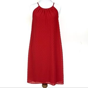 ELLE Pink/Red Dress Mid Length